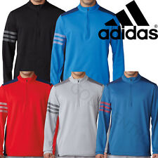 Adidas Golf Competition Mens 1/4 Zip Pullover Climacool Stretch Sweater