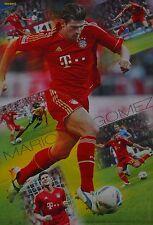 MARIO GOMEZ - A3 Poster (ca. 42 x 28 cm) - Fußball Clippings Sammlung NEU