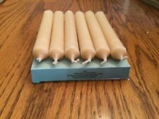 Nib PartyLite Set of 6 Spiced Vanilla Utility Candle Refill A0211