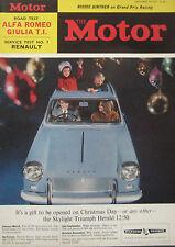 Motor magazine 18/12/1963 featuring Alfa Romeo Giulia TI road test