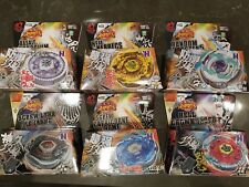 6 PCS Beyblade 4D Fusion Top Metal Master Rapidity Fight Launcher NEW!!