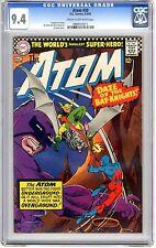 The Atom  #30  CGC  9.4  NM  Cream to off - wht pgs   4-5/67  Gardner Fox story,