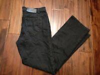Diesel Industry Mod Sparker Jeans Black Men's 34 Waist 29 Inseam