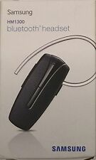 Samsung HM-1300 Bluetooth Headset with Multi-point Technology - Black