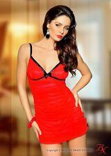 Sexy chemise-red Temptation-Beauty Night fashion tamaño: s/M