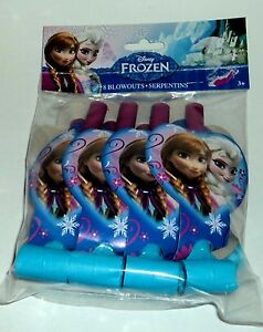Disney Frozen 8 Compte Fête sans-Gênes Avec Elsa et Anna Nip