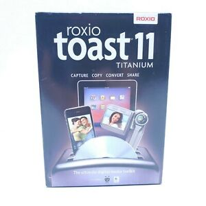Roxio Toast 11 Titanium For Apple IMAC,Macbook Software for converting video