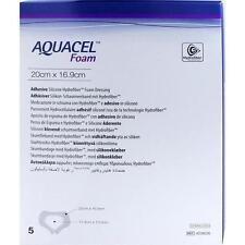 Aquacel Foam adhäsiv sacrale 16,9x20 cm Federazione associazione 5st PZN 9060593