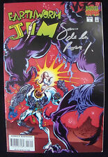 Earthworm Jim Marvel Comics #3 Signed Rare Last Issue! Low Print Run VF