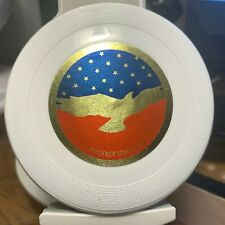 "Wham-o Frisbee 4"" mini All American label Faulkner sports LTD"