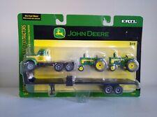 John Deere Mack Truck with Trailer & John Deere 630 / 730 Tractors 1/64 by Ertl