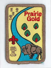 SCOUTS OF CANADA -  CANADIAN SCOUT SASKATCHEWAN PRAIRIE GOLD DISTRICT PATCH