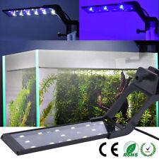 Aquarium LED Lampe à Clipser Lumière Poisson Plantes Bleu Blanc Barre Éclairage