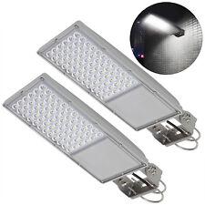 2 pack Security LED Street Area Lighting 3500 Lumen Dusk to Dawn Sensor Lamp 30W