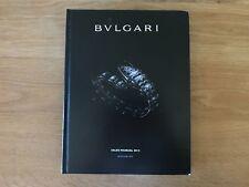 Manual de Ventas BVLGARI Sales Manual 2012 - Used - Jewels Joyas BULGARI