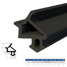 Gummi-,Tür-, Fensterdichtung S-1530 1-100m EPDM Schwarz Wärme-,Schalldämmung TOP