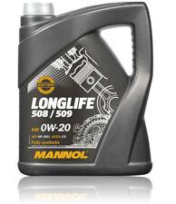 5 Liter Longlife Motoröl 0W20 für VW 50800 50900 MB 229.71 BMW LL-17FE+ Mannol