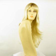 Perruque femme mi-longue méchée blond racine blond foncé TANIA YS