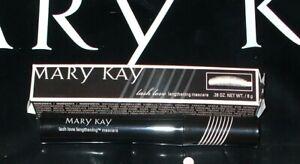"""Mary Kay LASH LOVE Lengthening Mascara """"I Heart Black"""" NIB"""