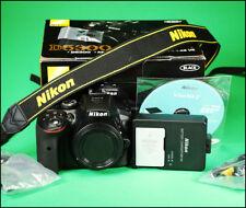 Nikon D5300 DSLR Camera, + Charger, Battery, Software Disc and Box 889 Shots