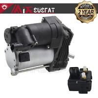Air Compressor Pump W / Compressor Solenoid Valve Fit BMW X5 E70 X6 E71 E72 NEW