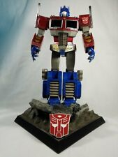 Hot Toys 1/6 TRANSFORMERS G1 Optimus Prime Starscream Sideshow TF001 & Base