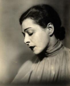 ALLA NAZIMOVA (ca. 1930) Vintage original 9x7 Broadway photo by Maurice Goldberg