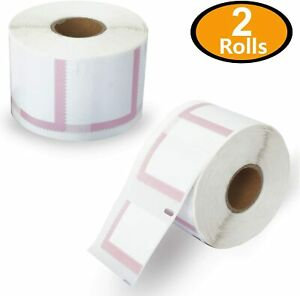 DYMO LabelWriter 30915 Postage Stamp Labels 1-5/8 x 1-1/4 White Adhesive 2 Rolls