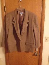 A20 Pendleton Womens Brown Wool Jacket Blazer 22W 3X