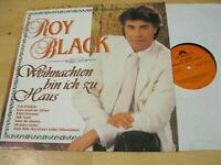 LP Roy Black Weihnachten bin ich zu Haus VInyl Polydor 841 218-1