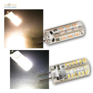 G4 LED Mini Birne Silicia 360° 12V 120/160lm Leuchtmittel Stecksockellampe Lampe