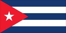 DRAPEAU DE CUBA - DIMENSION 150 X 90 CM - 100 % POLYESTER - ETAT NEUF