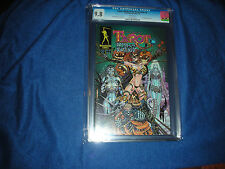 TAROT WITCH OF THE BLACK ROSE #3 CGC 9.8 7/00 JIM BALENT STORY-HOT COVER & ART