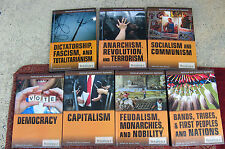 Political and Economic Systems. Set of 7.  Britannica Educational Publishing / R
