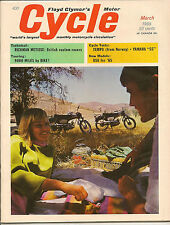 MINT Cycle Magazine March 1965 BSA '65, '65 Metisse, Tempo, AMA, Canadian Race