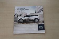173314) Range Rover Evoque-Leasing brochure 2011