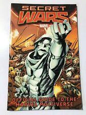 SECRET WARS OFFICIAL GUIDE TO THE MARVEL MULTIVERSE MARVEL COMICS (2015)