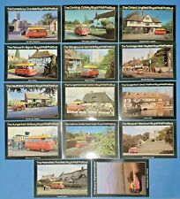 1980 Royal Mail Postbus Postcard Collection of 14 Postcards HK3