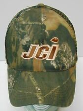 JCI INDUSTRIES Wastewater Water Equipment Services CAMO SNAPBACK TRUCKER HAT CAP