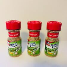 NEW Sealed McCormick Perfect Pinch Garlic & Herb Salt Free Seasoning Lot of 3