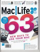 Mac Life Magazine April  2016 , 63 New ways to use your MAC / t1