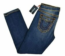 True Religion $299 Men's Geno Relaxed Slim Super T Jeans - ME08NVZ3