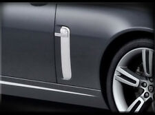 Jaguar XK & XKR Chrome Fender Trim Finisher set 2pcs 2007 2008 2009 2010 2011
