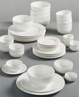 Gibson White Elements Lexington Dinnerware (Choose Model)
