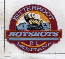Montana - Bitterroot Hotshots R-1 MO Fire Dept Patch v2