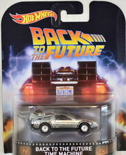 Hot Wheels 2016 Retro Entertainment Back to the Future Time Machine Delorean F S