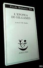 Sandars - L'epopea di Gilgames - Piccola Biblioteca Adelphi 194 - 9788845902116
