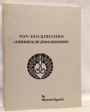 ESSENCE OF JODO SHINSHU BUDDHISM MYSTIC AWARENESS ASIA BUDDHA