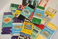 Vintage Sewing Lot - Trim, Zippers, Binding, Piping, Rick Rack -