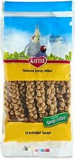 Spray Millet For Birds, Natural With No Artificial Colors Or Flavors ,12 Count